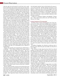 Marine Technology Magazine, page 60,  Sep 2013 University of California San Diego