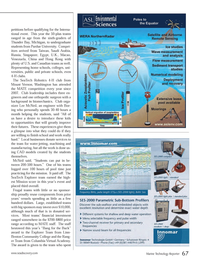 Marine Technology Magazine, page 67,  Sep 2013 Washington