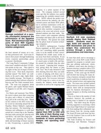 Marine Technology Magazine, page 68,  Sep 2013 California
