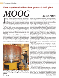 Marine Technology Magazine, page 74,  Sep 2013 Lou Geyer