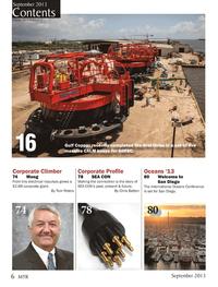 Marine Technology Magazine, page 6,  Sep 2013 SEA CON??s