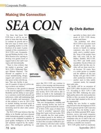 Marine Technology Magazine, page 78,  Sep 2013 Melanie Harrison