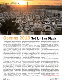 Marine Technology Magazine, page 80,  Sep 2013