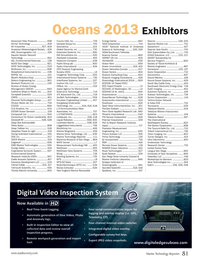 Marine Technology Magazine, page 81,  Sep 2013