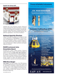 Marine Technology Magazine, page 83,  Sep 2013 Naval Meteorology and Oceanography Command