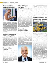 Marine Technology Magazine, page 84,  Sep 2013 New Jersey