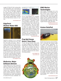 Marine Technology Magazine, page 87,  Sep 2013 New Hampshire