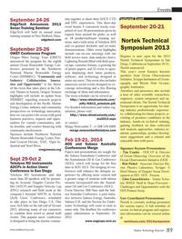 Marine Technology Magazine, page 89,  Sep 2013 Oregon