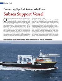 Marine Technology Magazine, page 12,  Oct 2013 U.S. Gulf of Mexico