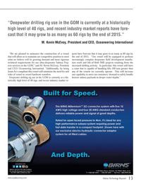 Marine Technology Magazine, page 13,  Oct 2013 M. Kevin McEvoy