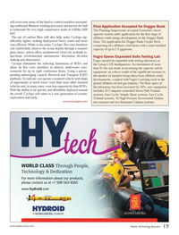 Marine Technology Magazine, page 19,  Oct 2013 oil and gas industry