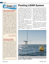 Marine Technology Magazine, page 20,  Oct 2013
