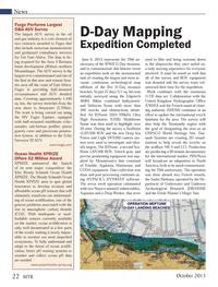 Marine Technology Magazine, page 22,  Oct 2013 geohazard consultancy services