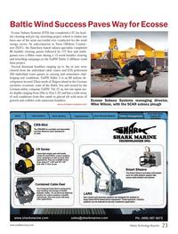Marine Technology Magazine, page 23,  Oct 2013 Baltic Sea