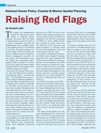 Marine Technology Magazine, page 24,  Oct 2013 White House Council on Environmental Quality