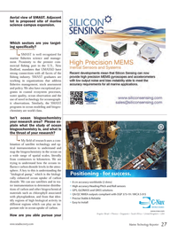 Marine Technology Magazine, page 27,  Oct 2013