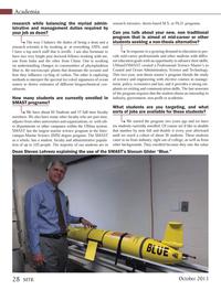 Marine Technology Magazine, page 28,  Oct 2013 campus Marine Science