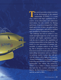 Marine Technology Magazine, page 39,  Oct 2013