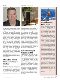 Marine Technology Magazine, page 47,  Oct 2013