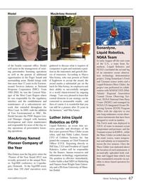 Marine Technology Magazine, page 47,  Oct 2013 Bill Vass
