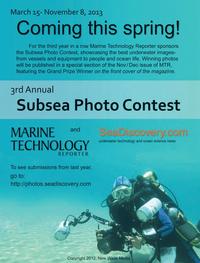 Marine Technology Magazine, page 3,  Oct 2013