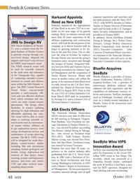 Marine Technology Magazine, page 48,  Oct 2013 Virginia
