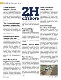Marine Technology Magazine, page 50,  Oct 2013 Australasia