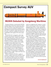 Marine Technology Magazine, page 55,  Oct 2013 Kongsberg Maritime?s Subsea Division
