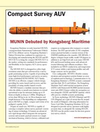Marine Technology Magazine, page 55,  Oct 2013 Kongsberg Maritime?s Subsea Division