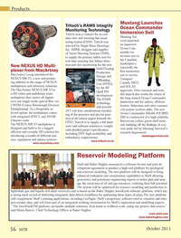 Marine Technology Magazine, page 56,  Oct 2013