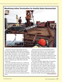 Marine Technology Magazine, page 57,  Oct 2013 electricity