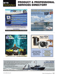 Marine Technology Magazine, page 61,  Oct 2013