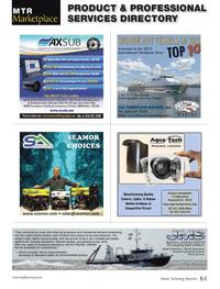 Marine Technology Magazine, page 61,  Oct 2013 3344 FaxMarine Technology
