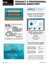 Marine Technology Magazine, page 62,  Oct 2013