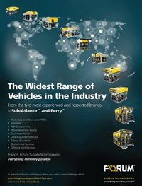 Marine Technology Magazine, page 4th Cover,  Oct 2013