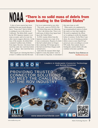 Marine Technology Magazine, page 9,  Nov 2013 Texas