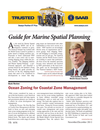 Marine Technology Magazine, page 16,  Nov 2013