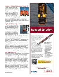 Marine Technology Magazine, page 17,  Nov 2013 Sarah Cash-more