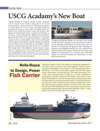 Marine Technology Magazine, page 26,  Nov 2013 optimum transportation