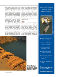 Marine Technology Magazine, page 37,  Nov 2013