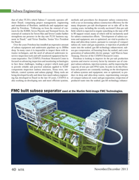 Marine Technology Magazine, page 40,  Nov 2013