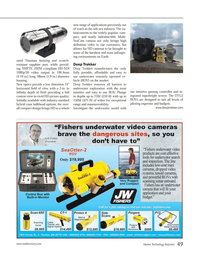 Marine Technology Magazine, page 49,  Nov 2013 Deep Trekker Deep Trekker