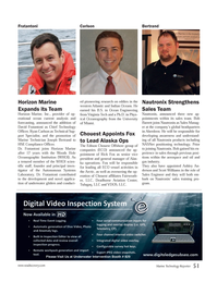Marine Technology Magazine, page 51,  Nov 2013 Ryan Carlson