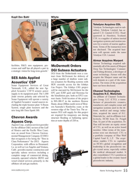 Marine Technology Magazine, page 55,  Nov 2013 West Coast