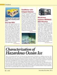 Marine Technology Magazine, page 56,  Nov 2013 Radarsat Constellation Mission