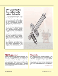 Marine Technology Magazine, page 57,  Nov 2013