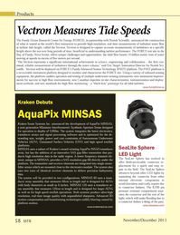 Marine Technology Magazine, page 58,  Nov 2013 AquaPix MINSAS