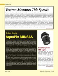 Marine Technology Magazine, page 58,  Nov 2013 AquaPix MINSAS