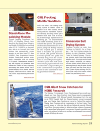 Marine Technology Magazine, page 59,  Nov 2013 Operation Control Center