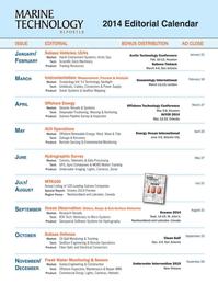 Marine Technology Magazine, page 60,  Nov 2013